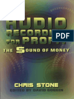Stone-Audio Recording For Profit-The Sound Of Money