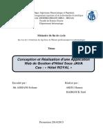 [Projet de fin d'études] Gestion d'Hôtel Sous JAVA.pdf
