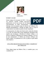 60 CITAÇÕES DE ROBERT ADAMS - PARTE 1 E PARTE 2 EDITADAS