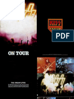 Kiss Rock and Roll Over Tour Book