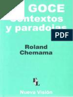 Chemama, Roland (2008). El Goce, Contextos y Paradojas. Ed. Nueva Visión.pdf