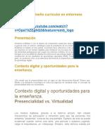MODULO 5 diseño curricular en entornoss digitales