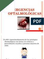 EMERGENCIAS OFTALMOLÓGICAS