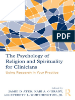 Jamie Aten, Kari O'Grady, Everett Worthington Jr. - The Psychology of Religion and Spirituality for Clinicians_ Using Research in Your Practice-Routledge (2011)