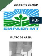 COMO FAZER FILTRO DE AREIA