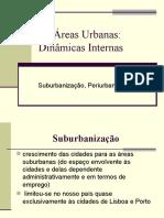 A Expansão Urbana Geografia 11º