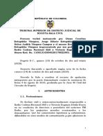 Tribunal condenó a Vicky Dávila y a LA FM, por dañar buen nombre de Policía