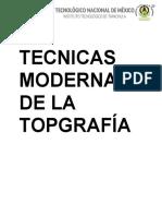 Topografia modern