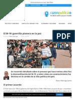El M-19_ guerrilla pionera en la paz - Razón Pública