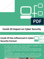 Mayur Rele Covid-19 Impact on Cyber Security