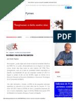 Paso número 1 para ser una pyme competitiva _ Grandes Pymes