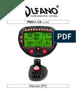 Alfano - PROplus LV - Manual