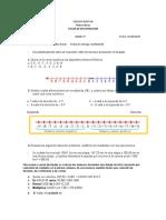 RECUPERACIÓN  Matemáticas 7° ( Semana 31 al 4 ) - 3108.