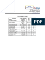 Pvc Foam Data Sheet (1)