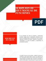 Descripcion de Cargos y Manual de Funciones