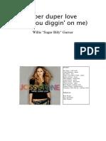 Super duper love (Are you diggin' on me) - Joss Stone