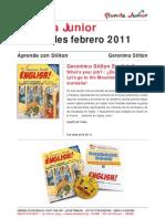 Boletín Planeta Junior febrero 2011