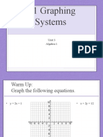 6.1 Graphing Systems