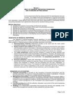 Module 1_Development of Financial Reporting Framework and Standard-Setting Bodies