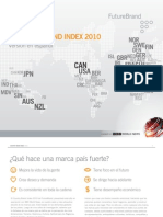 Country Brand Index 2010 - Future Brand y BBC