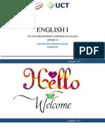 WEEK 15  ENGLISH I