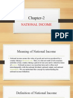 Chapter-2 NATIONAL INCOME