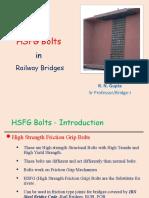 HSFG Bolts