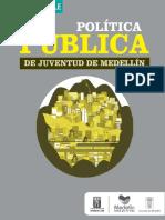 1. Política Pública de Juventud de Medellín