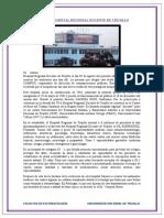 VISITA AL HOSPITAL REGIONAL DOCENTE DE TRUJILLO odonto