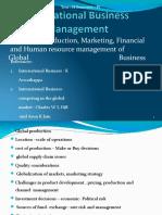 INTERNATIONAL BUSINESS MANAGMENT UNIT 4