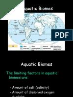 aquatic biomes marine and fresh .ppt
