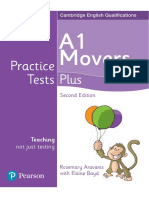 Movers Writing Practice Tests Plus