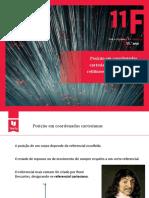 2. Posição em coordenadas cartesianas. Movimentos retilíneos e gráficos posição-tempo.pptx
