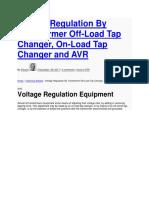 Volatage Regualtion EEP