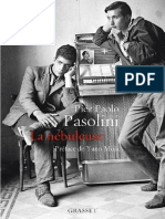 La Nebuleuse - Pier Paolo Pasolini