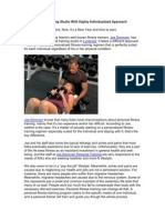 New Personal Training Studio-Scribd