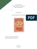 Exame Psicológico - Figura Humana (Infantil)