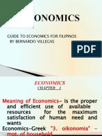 Chapter 1-Introduction -Economics
