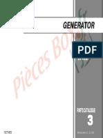 GENERATOR. EX7 EX700C EU10i EU1000i. 13ZT30E3 Honda Motor Co., Ltd. 2003