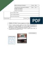 REPORTE DE ELECTRONICA N° 1
