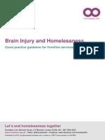 Brain Injury and Homelessness Nov 2018