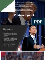 Political Speech