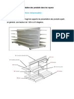 section 2 Implantation des produits dans les rayons