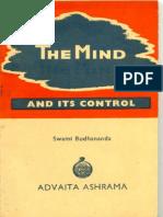 Budhananda- Mind and Its Control