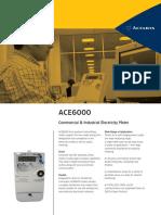 Catálogo ACE 6000