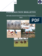 AISSEE 2021 Information Bulletin