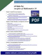 Useful Web links For Principles of Mathematics 10.doc