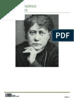 Helena Blavatsky - Glosario Teosófico