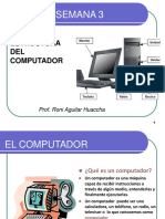 Semana 3 Estructura del computador