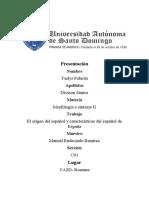 Origen del idioma español general 2